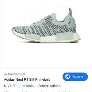 Adidas NMD R1 Primeknit shoes 7.5